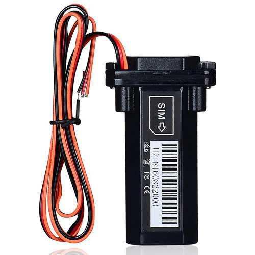 Gps Gsm Mini A Prueba De Agua Localizador Con Batería