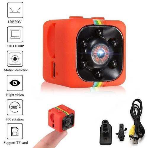 Mini Cámara 1080p Hd Wifi Videocámara Con Visión Noche Qu
