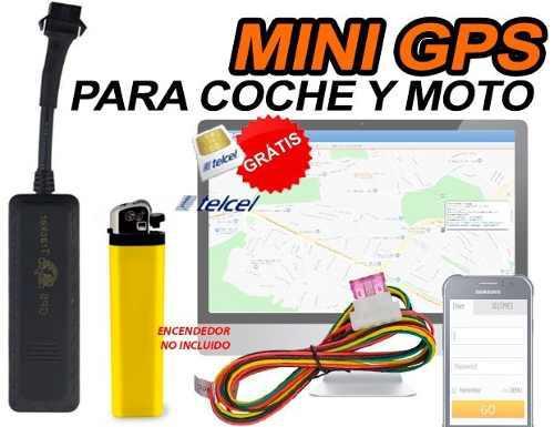 Mini Gps Localizador Para Carro Y Moto