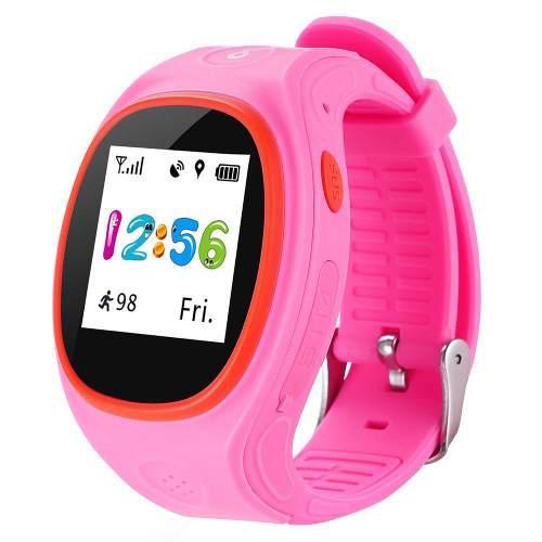 Reloj Con Gps Para Niños Zgpax X113 - Rosa