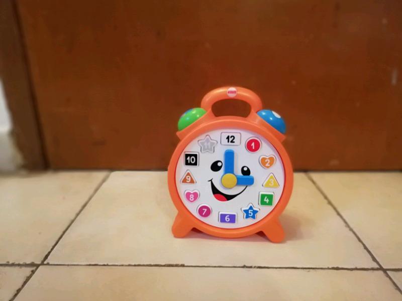 Reloj didáctico interactivo para bebes y niños