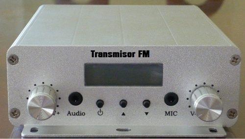 Transmisor Radio Fm 20 Watts + 15 Mts Cable Antena