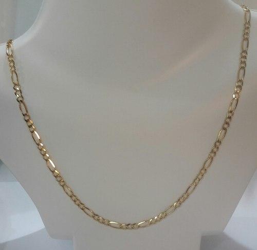 Cadena Cartier De Oro 10kt 8.4grs 60cm X 4mm
