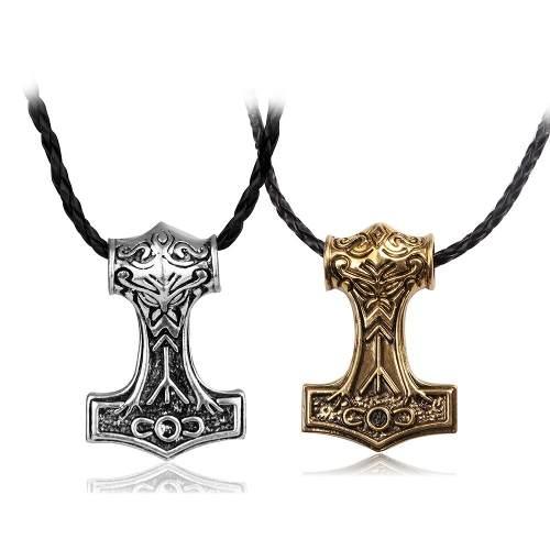 Collar Martíllo Thor Los Avengers Vikingo Envío Gratis