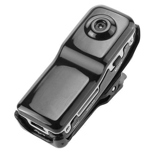 Mini Grabadora Dv / Video Cámara Dvr 1/1.6 Cmos 2.0mp - Neg