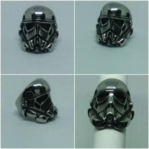 Anillo Acero Inoxidable 316l Stormtrooper Starwars