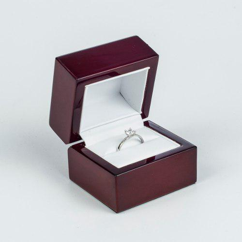 Anillo De Compromiso Tiffany 14 K, Diamante 90 Puntos