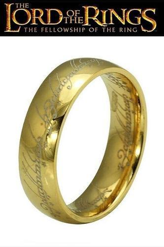 Anillos Señor De Los Anillos One Ring Frodo