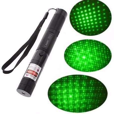 Apuntador Láser Verde De  Mw Recargable Prende Cerillos