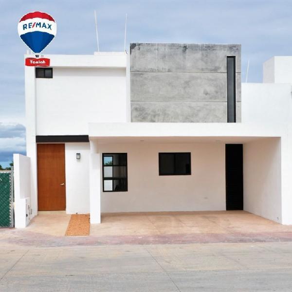 Casa en renta en Privada Fontana, Mérida Yucatán.
