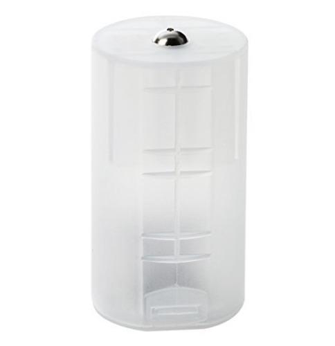 Convertidor Adaptador De Pila 2 Aa A D (grande) Bateria