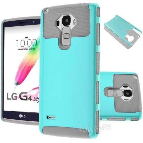 Lg G Stylo H634 - Blue_teal/gray - Para Lg G Stylo Ls77-0557