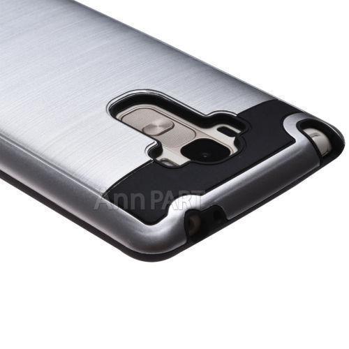 Lg G4 Stylus - Silver - Híbrido A Prueba De Golpes