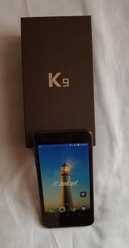 Lg K9, Color Negro, En Caja, Telcel, Estetica De 9.5