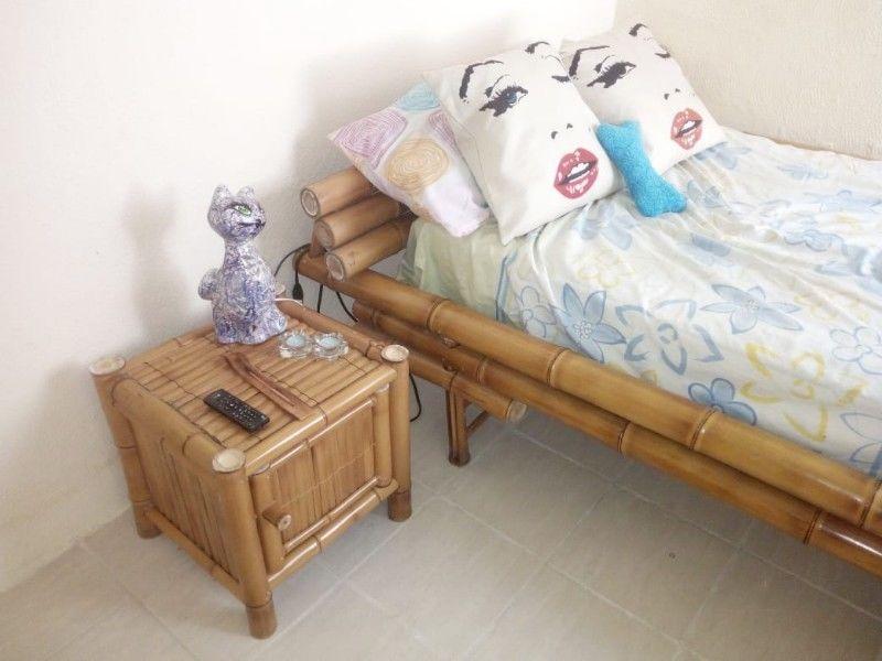 Recamara Matrimonial de Bambú