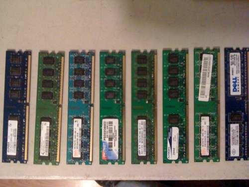 Rematamos Memorias Ram Ddr2 De 2 Gb Pcu De 800 Mhz
