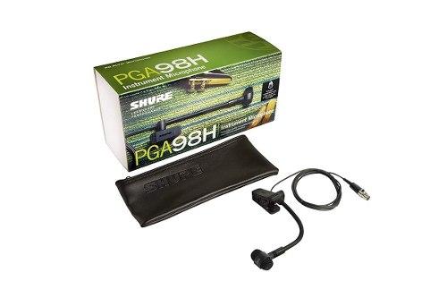 Shure Pga98h-tqg Micrófono Con Montura Para Inst. De Viento