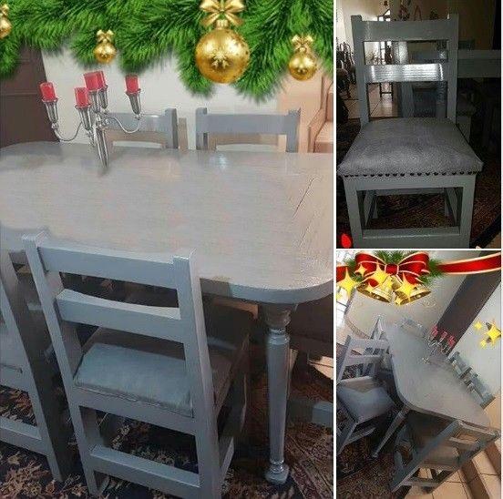 Vendo comedor de madera, 6 sillas