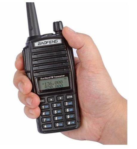 2 Radio Baofeng Uv-82l Pila 3000 Mah + Cable C/cd Program.