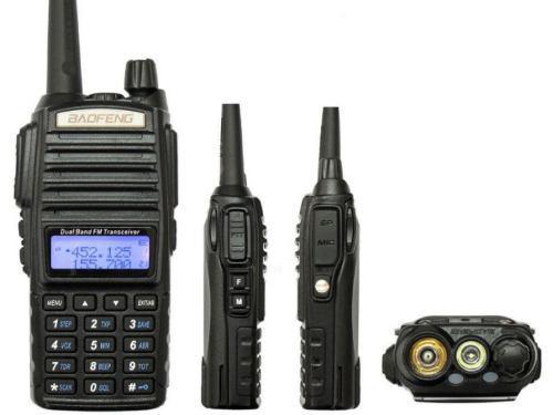 2 Radio Doble Banda Baofeng Uv82 Vhf/uhf