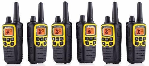 3 Kit Radios Midland X Talker T61vp3-3 51km* 32mi 2 Vías