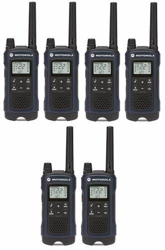 3 Kit Radios Motorola 56km* 35 Mi Puerto Micro Usb T460mc-3
