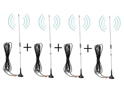 4 Antenas Auto Para Radios Baofeng Con Envío Incluido