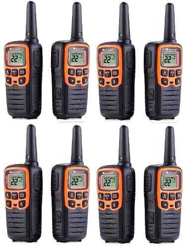 4 Kit Radios Midland X Talker T51vp3-4 45km* 28mi 2 Vías