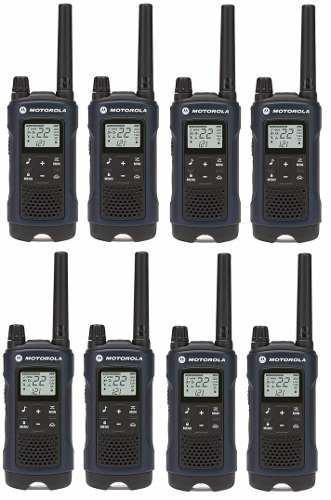 4 Kit Radios Motorola 56km* 35 Mi Puerto Micro Usb T460mc-4