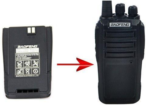5 Bateria O Pila Para Radio Baofeng Uv6 Nueva
