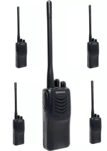 5 Radios Kenwood Tk 3000 Sincronizados Listos P Trabajar