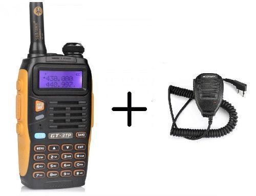 8w Radio Baofeng Gt-3tp Mark Iii Vhf/uhf + Micro De Solapa