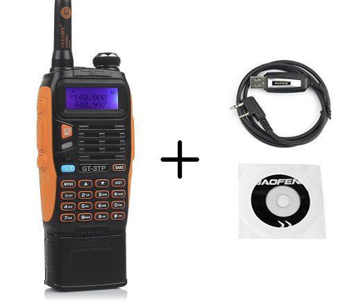 8w Radio Baofeng Gt-3tp Mark Iii *pila De 3800 Mah* + Cable
