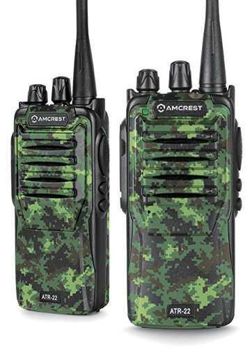 Amcrest Baofeng Radios Atr-22 De Dos Vías (pack De 2)
