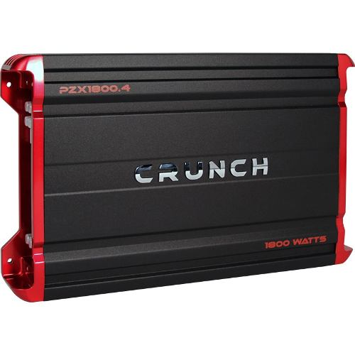 Amplificador Crunch Pzx Clase A/b 4-canales w Max