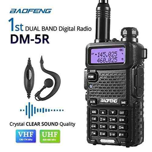 Baofeng Dm-5r De Doble Banda Dmr Digital Radio Walkie Talkie
