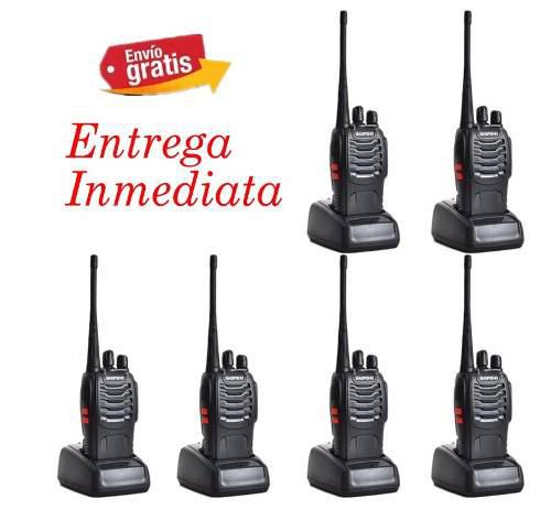 Baofeng Radio Bf-888s Walkie Talkie Uhf 400-470mhz Pack-6