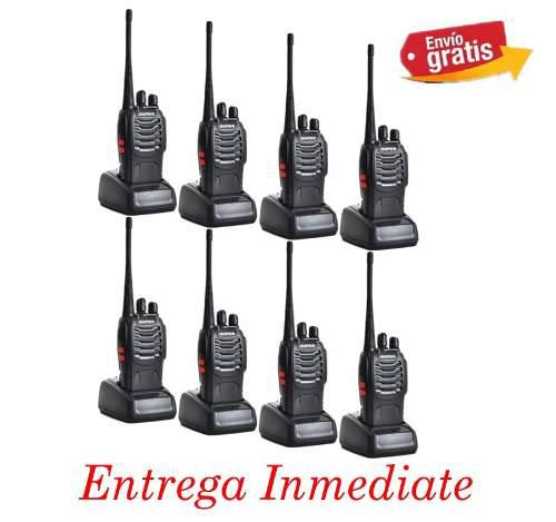 Baofeng Radio Bf-888s Walkie Talkie Uhf 400-470mhz Pack-8