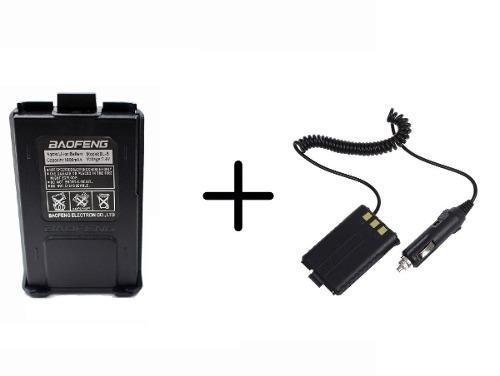Bateria + Eliminador De Bateria Para Radio Baofeng Uv-5r