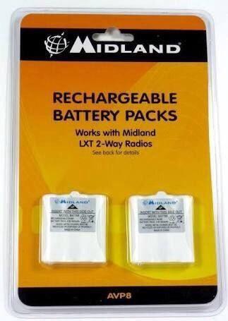 Baterias Recargables Avp8 Marca Midland