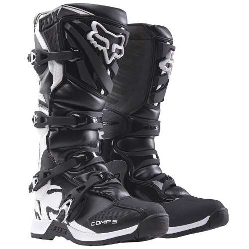 Botas Fox Comp 5 Negras  Rzr Motocross Atv Enduro Cross
