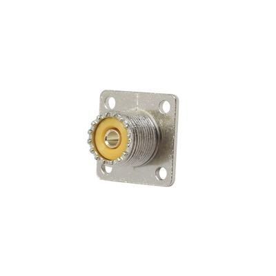Conector Uhf Hembra (so-239), Montaje Chasis Rfu-521 Rf Ind.