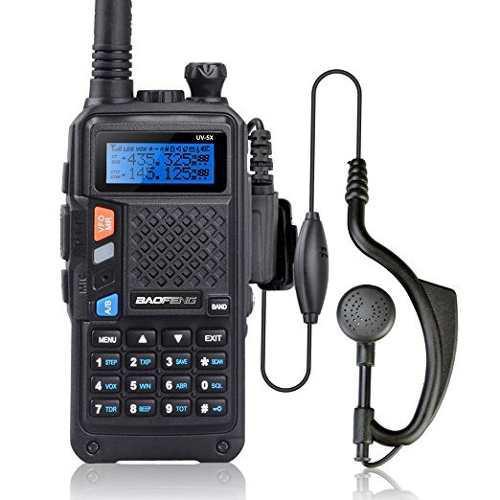 De Baofeng Uv-5x Radio De Dos Vías Con Función De Fm Vhf