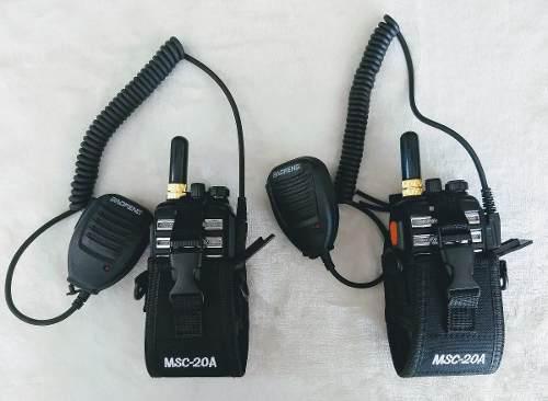 Dos Radios Baofeng Bf-230 Pro Uhf + Antena + Micro + Funda