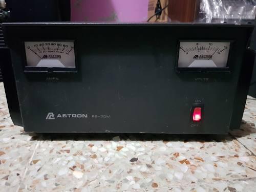 Fuente Regulada Astron Rs-70m Para Radio Cb, Hf, Multibanda