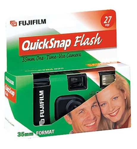 Fujifilm Quick Snap Flash 4 Pack 35 Mm De Una Sola Cámara
