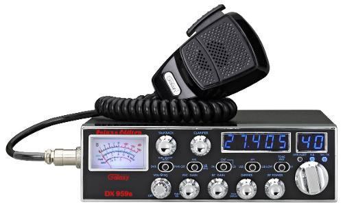 Galaxy Dx 959b Móvil Cb Radio Frecuencia Con Azul Y