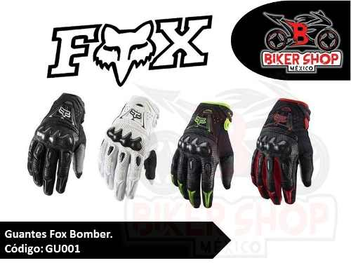 Guantes Motociclista Bomber Remate