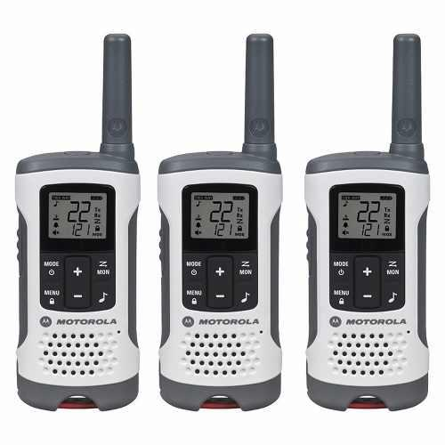 Kit 3 Radios Motorola 40km* 25 Mi Puerto Micro Usb T260tp