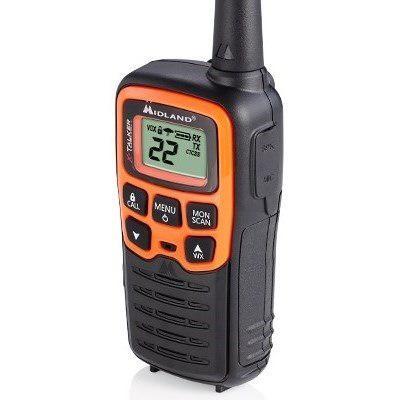 Kit 4 Radios Midland T51vp3 45 Km Manos Libres